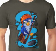 Hockey Penguin Unisex T-Shirt
