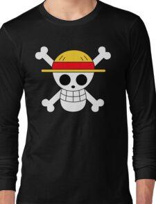 One Piece   Monkey D. Luffy Skull Long Sleeve T-Shirt