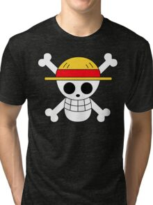One Piece | Monkey D. Luffy Skull Tri-blend T-Shirt