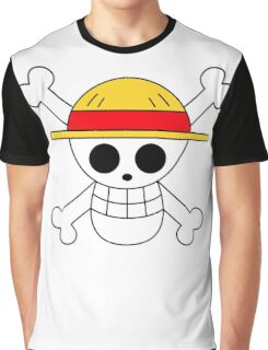 One Piece | Monkey D. Luffy Skull Graphic T-Shirt