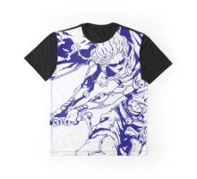 Blue Samurai  Graphic T-Shirt