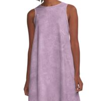 Lavender Herb Oil Pastel Color Accent A-Line Dress