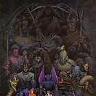 Shin Megami Tensei - Super Famicom Reproduction Poster by Bryant Almonte Designs