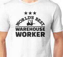 World's best warehouse worker Unisex T-Shirt