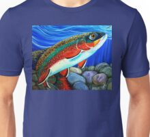 Brook Trout Fish Fly Fishing  Unisex T-Shirt