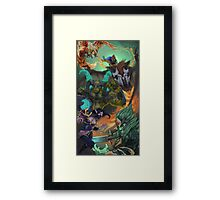 DOTA 2 Team OG Manila Major Champions! -No Logo Framed Print