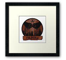 Trikru Framed Print