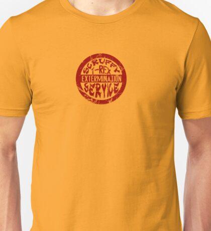 Scruffy T-Rex Extermination Service Unisex T-Shirt