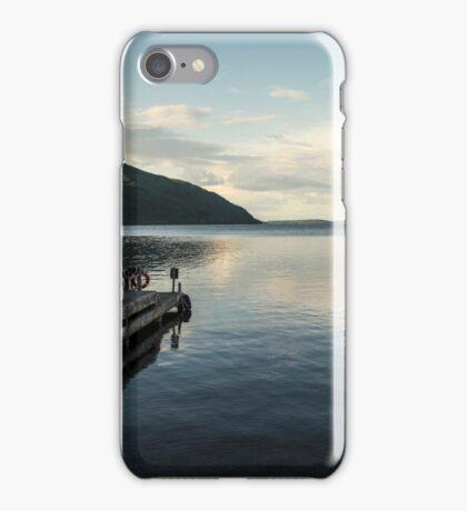 Loch Ness pier  iPhone Case/Skin