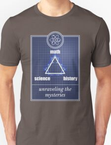 Big Bang Theory - Math, science, history, unraveling the mystery, Unisex T-Shirt