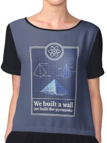 Big Bang Theory - We built the pyramids Chiffon Top