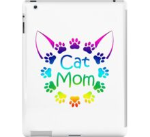 Cat Mom iPad Case/Skin