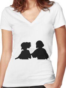 Spirited Promise Women's Fitted V-Neck T-Shirt
