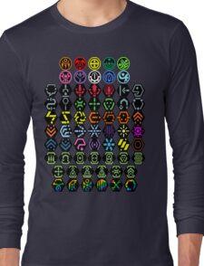 Phantasy Star Online - Icons Long Sleeve T-Shirt