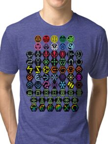 Phantasy Star Online - Icons Tri-blend T-Shirt