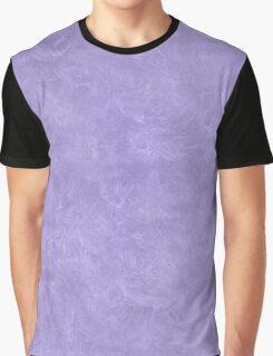 Violet Tulip Oil Pastel Color Accent Graphic T-Shirt