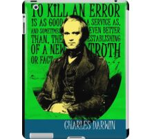Charles Darwin Quote iPad Case/Skin