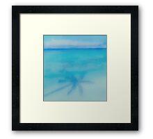 Shady Palm Framed Print