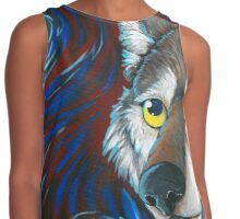Mexican gray Wolf Contrast Tank
