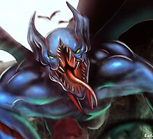 Night Stalker Dota 2 Hero Champion by deshmc