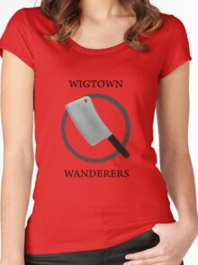 Wigtown Wanderers Women's Fitted Scoop T-Shirt