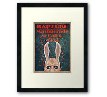 Bioshock - Masquerade ball 1959 Framed Print