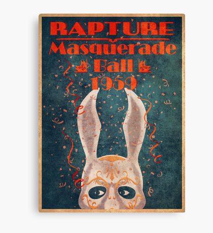 Bioshock - Masquerade ball 1959 Canvas Print