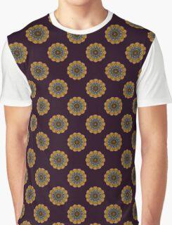 12 Eyes Mandala Graphic T-Shirt