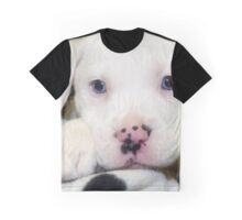 """""""Spots on Nose""""  Blue Eye Puppy Pit Mix Graphic T-Shirt"""