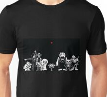 UNDERTALE Group Photo / Characters Unisex T-Shirt