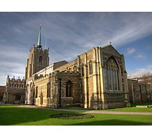 Chelmsford Cathedral, January 2012 Photographic Print