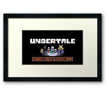 UNDERTALE Home Screen Framed Print