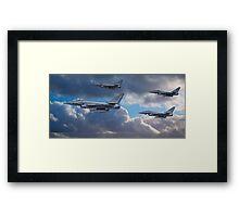 RAF Typhoon Squadron Framed Print