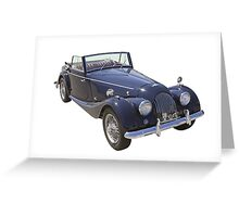 1964 Morgan Plus 4 Convertible Sports Car Greeting Card
