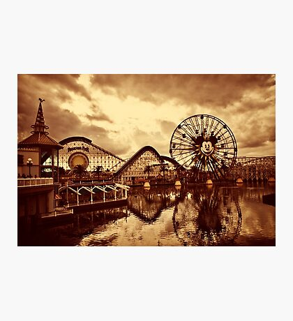 Paradise Pier Photographic Print