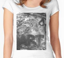 ART bw Women's Fitted Scoop T-Shirt