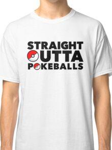 Straight Outta Pokeballs - Pokemon GO Classic T-Shirt
