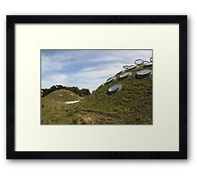 CA Academy of Sciences Roof Framed Print