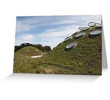 CA Academy of Sciences Roof Greeting Card