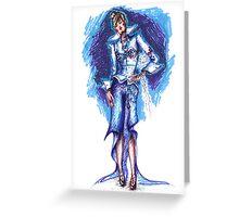 Cold fashion Greeting Card