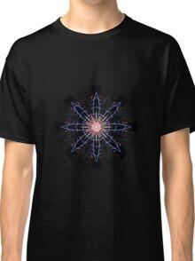 Single Firework Snowflake Classic T-Shirt