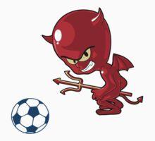 BELGIAN FOOTBALL TEAM by Gilberte