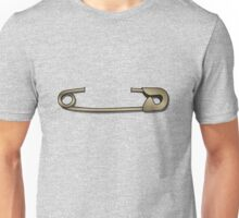 Safety Pin Unisex T-Shirt