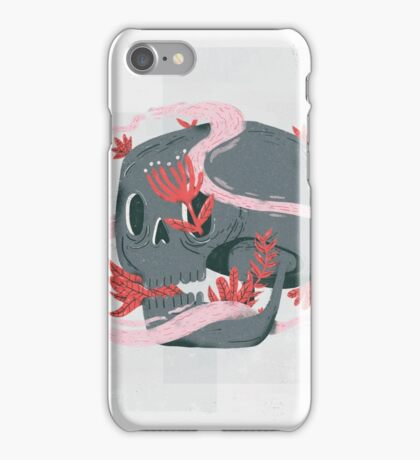 death and silence iPhone Case/Skin