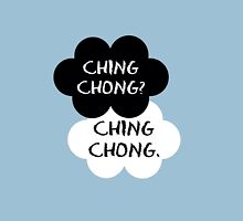 Ching Chong? Ching Chong.  Womens Fitted T-Shirt