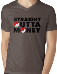 Pokemon Go - Straight Outta Money Mens V-Neck T-Shirt