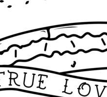 Burger love Sticker