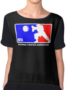 -GEEK- Street Fighter NBA Style Chiffon Top