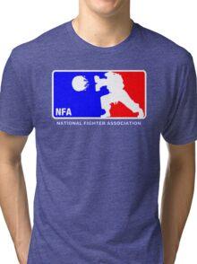 -GEEK- Street Fighter NBA Style Tri-blend T-Shirt