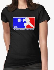 -GEEK- Street Fighter NBA Style Womens Fitted T-Shirt